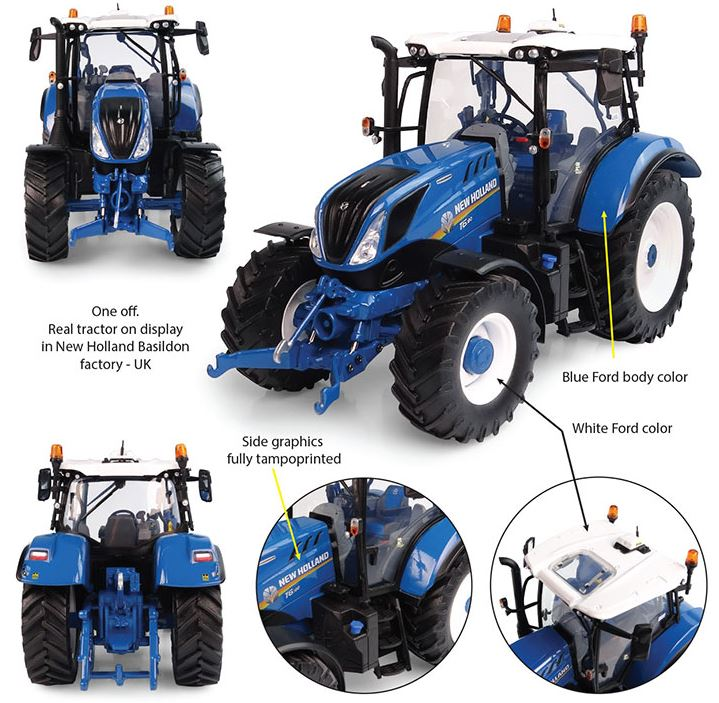 New Holland T6.180 - Heritage Blue Edition